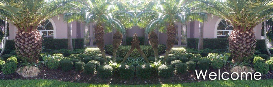 garden landscape design broward south florida home