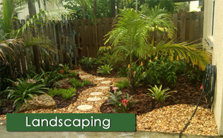 garden landscape design broward south florida home - Florida Landscape Design Ideas