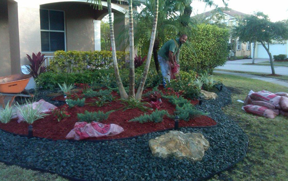 Garden Landscape Design - Broward, South Florida - Home